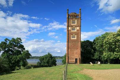Freston Tower, Near Ipswich, Suffolk