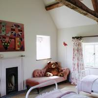 Child's Bedroom in Oxfordshire Farmhouse