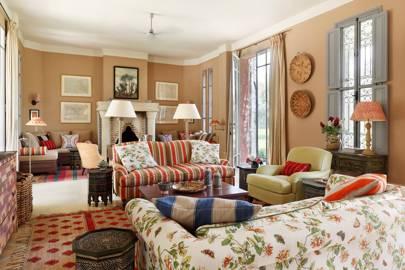 Morocco House - Living Room