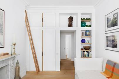 Storage solutions for small spaces - White cupboards