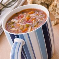 1 Cup Minestone Soup = 80Kcals