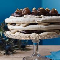 Chestnut, Rum & Chocolate Vacherin - Best Gluten Free Recipes