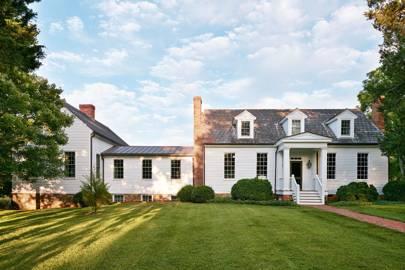 Eighteenth-century House in Virginia