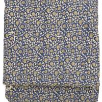 En Fil D'Indienne, Reversible Block Print Cotton Quilted Throw