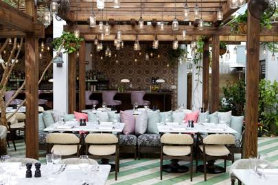 Miami Beach House: Outdoor Dining