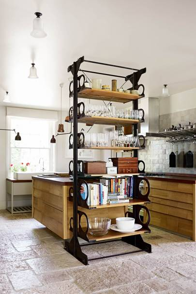 Retrouvius kitchen shelving