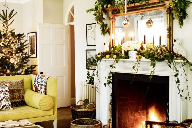 christmas living rooms christmas decorating ideas house garden