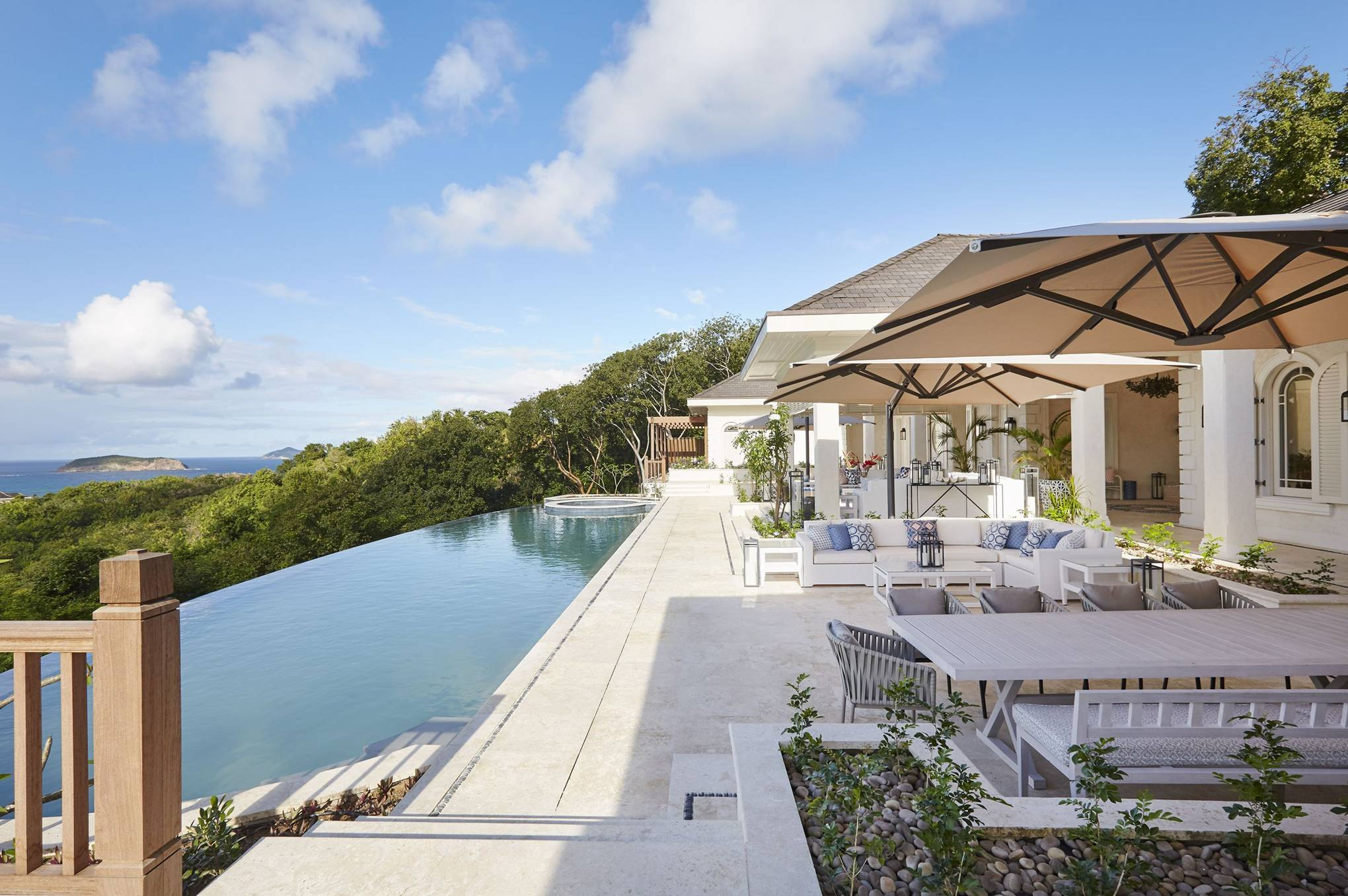 Inside the luxury Mustique villa Kate Middleton and Prince William holidayed in