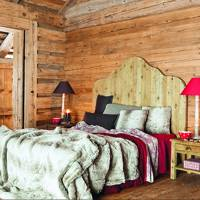 Rustic Wooden Bedroom