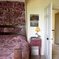 Toile de Jouy Bed Canopy