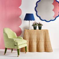 Scallop-edged furniture and accessories, p13