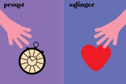 Proust v Salinger