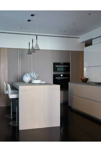 Kitchen - Modern Park Avenue Apartment