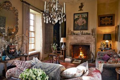 Robert Kime Wiltshire sitting room