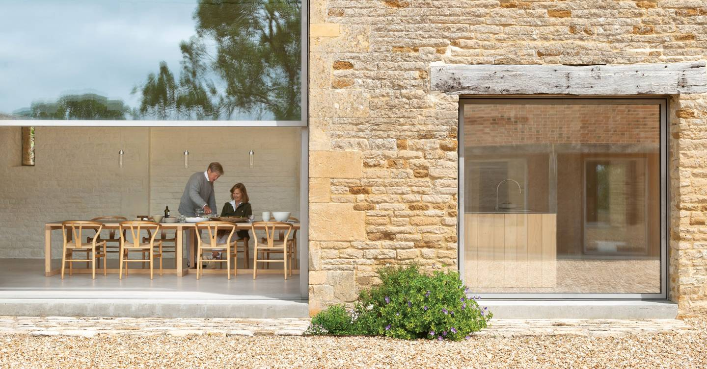 At home with the Pawsons: the architect and his family's Cotswold farm