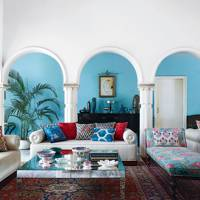 Living Room - Colours of India