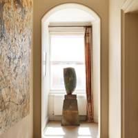 Hallway Art - The London Home of Wendy Nicholls