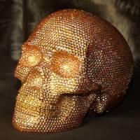 Crystal Encrusted Skull