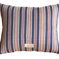 'Swedish Ticking Cushion',  cotton, 42 x 49cm, £250, from Howe