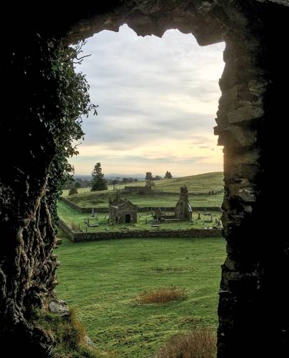 The remarkable ruins of Ireland's country houses