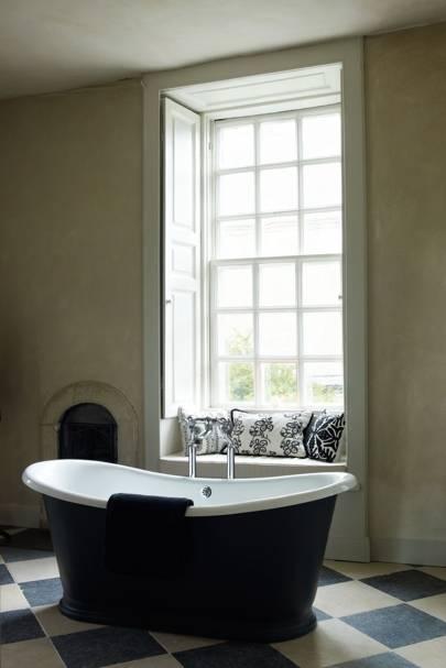 Minimalist Country Bathroom