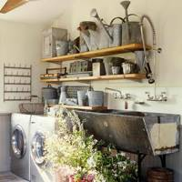 Open Shelves - Utility Room Ideas