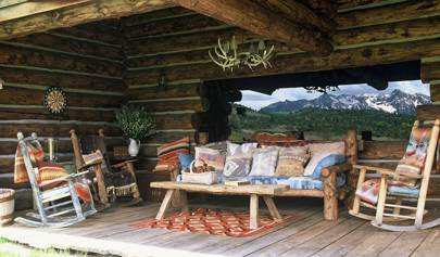 Ralph Lauren's Colorado ranch   Ralph Lauren's Home   House ... on rock churches, rock lake homes, rock lake cabins, rock and log house,