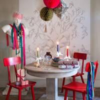 Coloured candlesticks