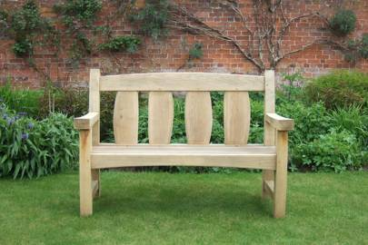Oxford Oak Goosey Bench
