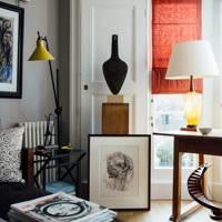 Living Room Detail - Artist Flat and Studio