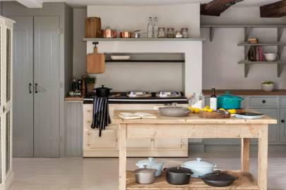 Pale Grey Cabinets