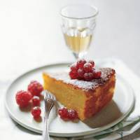 Orange and olive oil cake