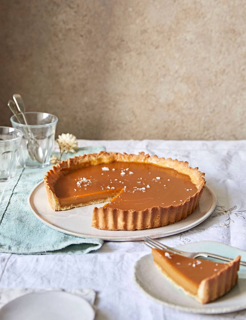 Salted Caramel Tart Recipe House Garden