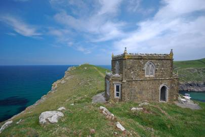 Doyden Castle, Port Quin, Cornwall