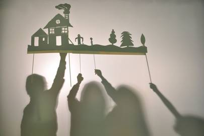 Create your own shadow puppets