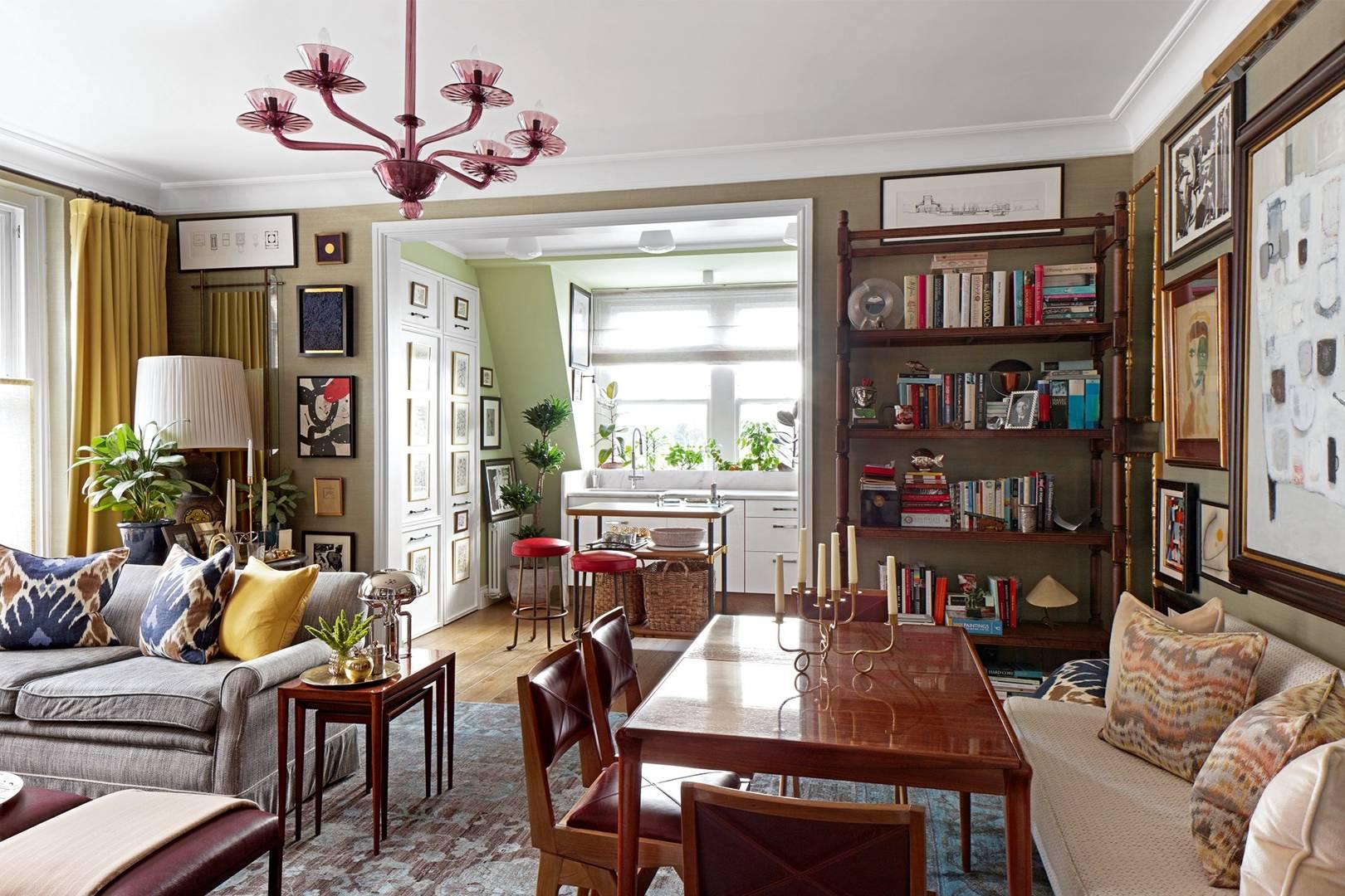 Annabels designer martin brudnizkis west london flat house garden