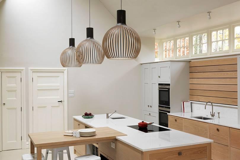 kitchen lighting ideas four top tips house garden. Black Bedroom Furniture Sets. Home Design Ideas