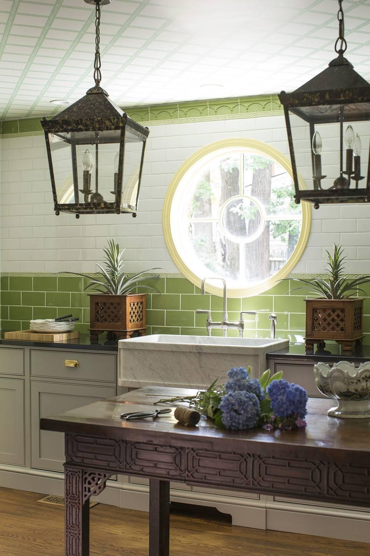 Madcap cottage bright pattern house interior design inspiration house garden