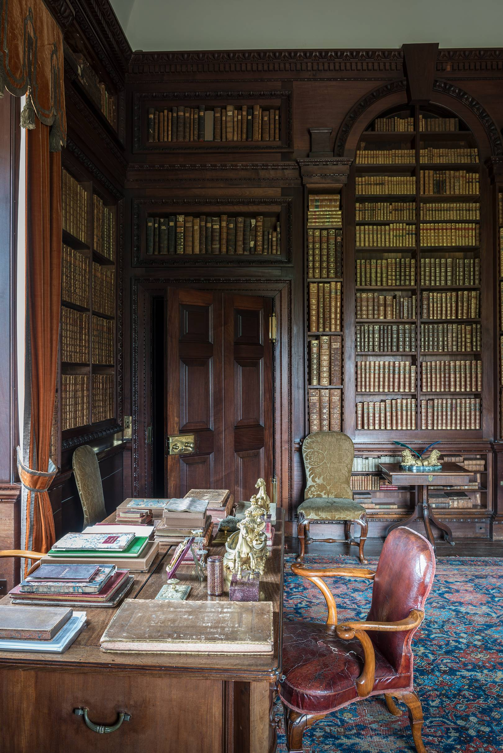 The hidden beauty of country house libraries