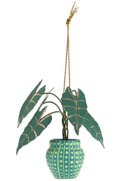Coco Pot Plant Decoration from Anthropologie