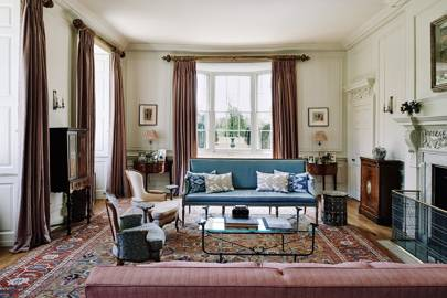 Drawing Room - Restored Georgian House in Somerset