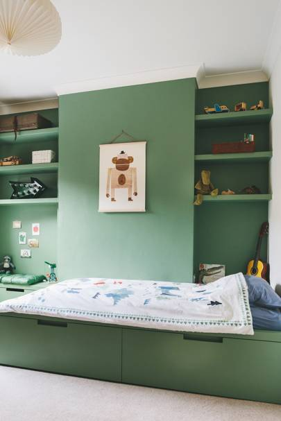 Farrow and Ball colours - Breakfast room green