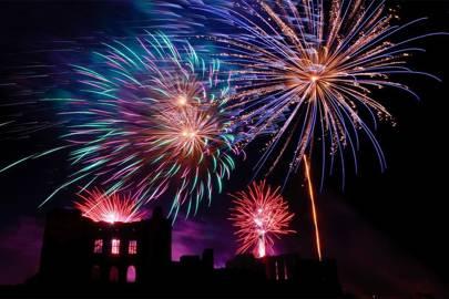 Kenilworth Castle Bonfire