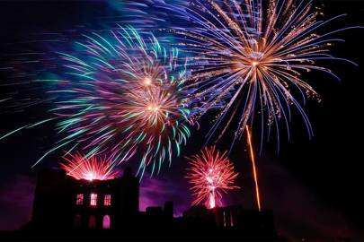 Kenilworth Castle Bonfire