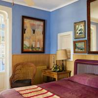 Cornflower Blue Guest Bedroom
