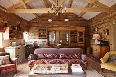 Rustic Soho Farmhouse