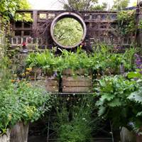 Small Garden Ideas. City Gardens