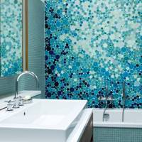 Bubble Tile Mosaic