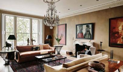 Drawing Room - London Terrace Restoration | Real Homes