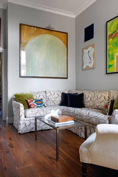 Small Space L Shaped Sofa